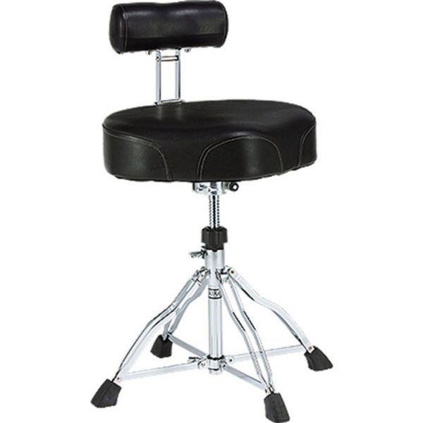 Tama HT741B First Chair Ergo Rider Drum Throne with Back Rest - HT741B